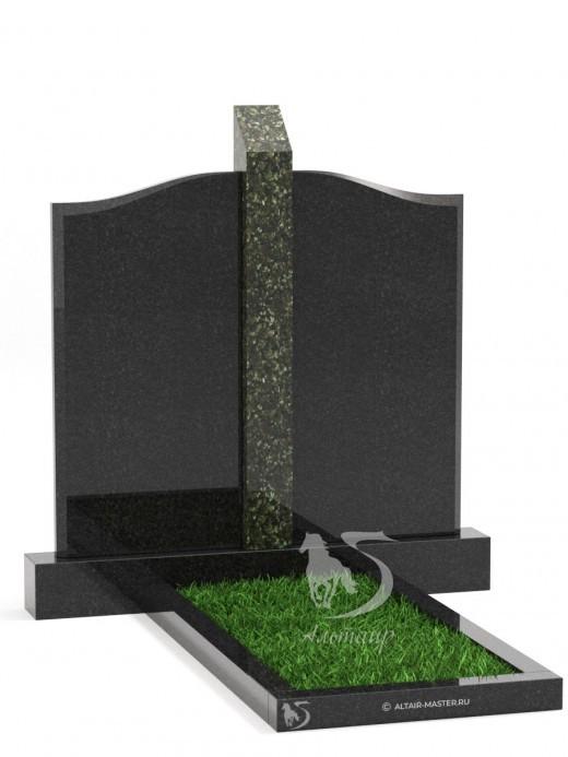 Памятник ГС003 (чёрно-зелёный)