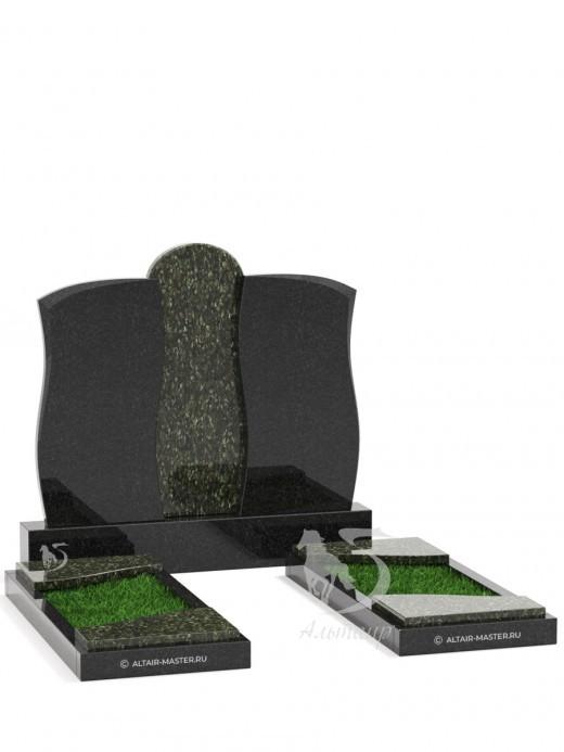 Памятник ГС004 (чёрно-зелёный)