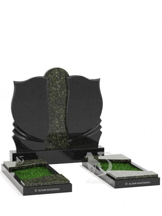 Памятник ГС017 (чёрно-зелёный)