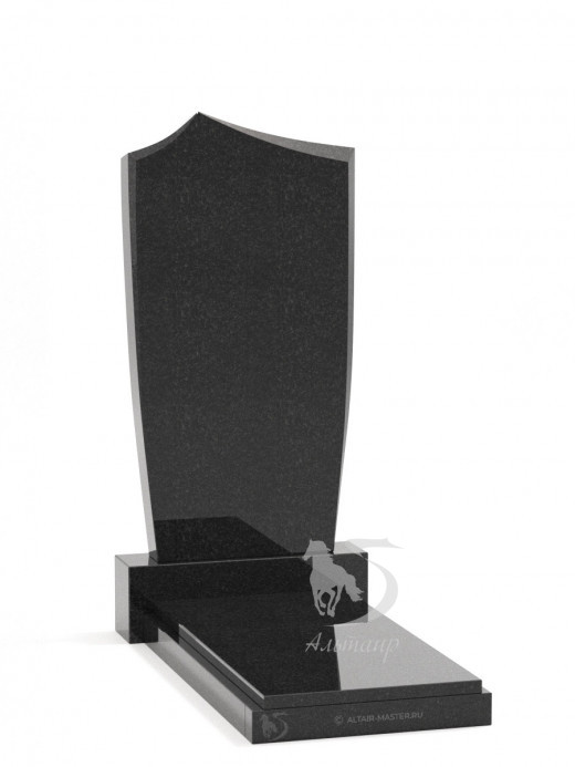 Памятник ГФ007 (чёрный)